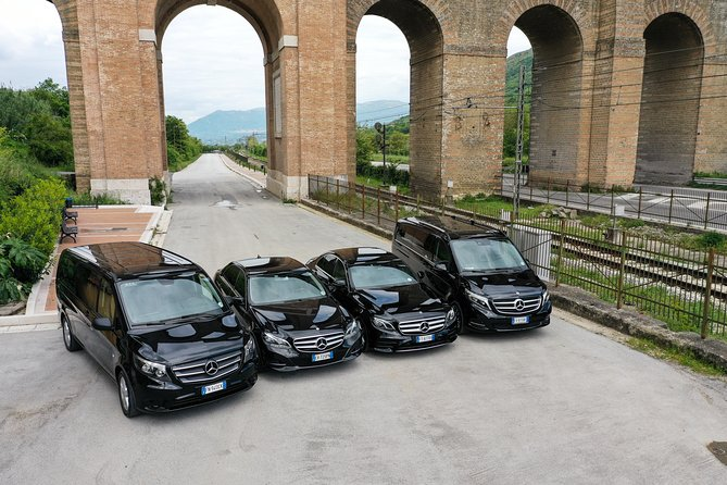 Private Transfer from Naples to Rome Fiumicino or Ciampino Airport
