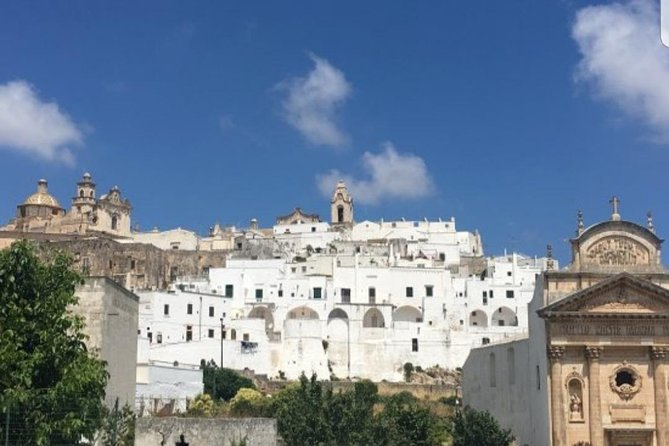 "Ostuni: visit of the ""white city"" + light lunch"