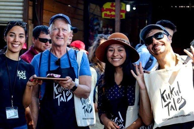Tour de comida guatemalteca en Antigua