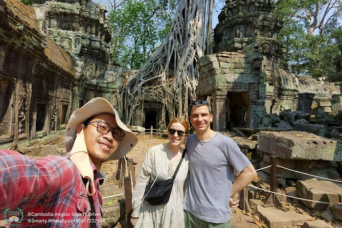 3 Days Angkor Wat Park & Indiana Jone Temple By Mr Smarty
