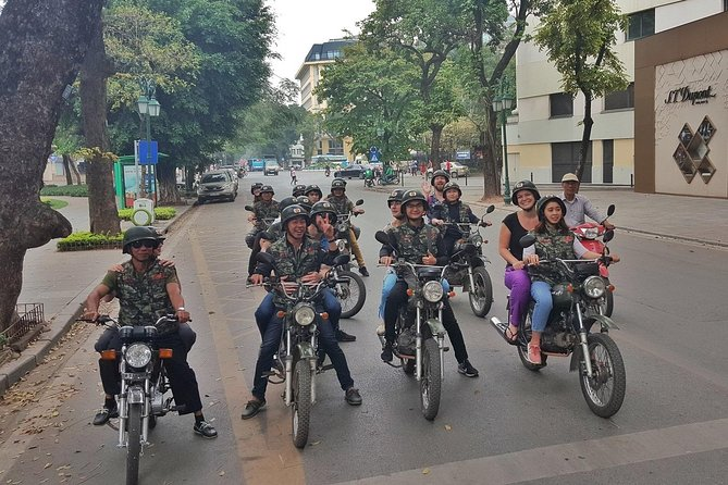 Full day highlights in Hanoi Motorbike & Jeep, fun, culture, amazing, local life