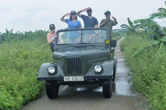 Incredible tour to discover the secret of Hanoi city by jeep, motorbike, walking