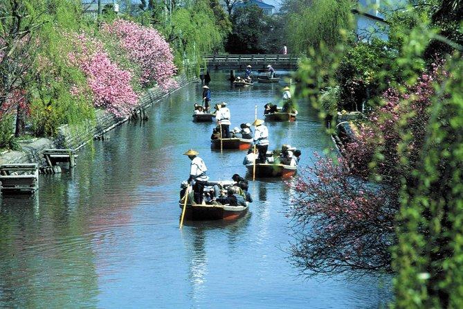 Guided Train and Boat Tour of Dazaifu & Yanagawa from Fukuoka