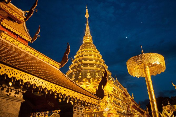 Wat Umong and Doi Suthep Temples Evening Private Tour – Half Day