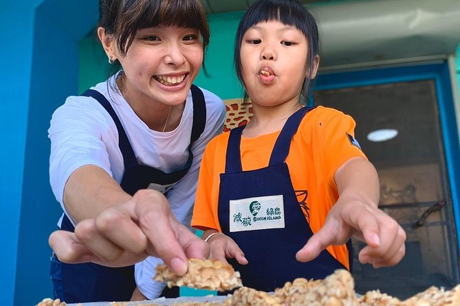 Taiwan Green Island Peanuts what experience activities