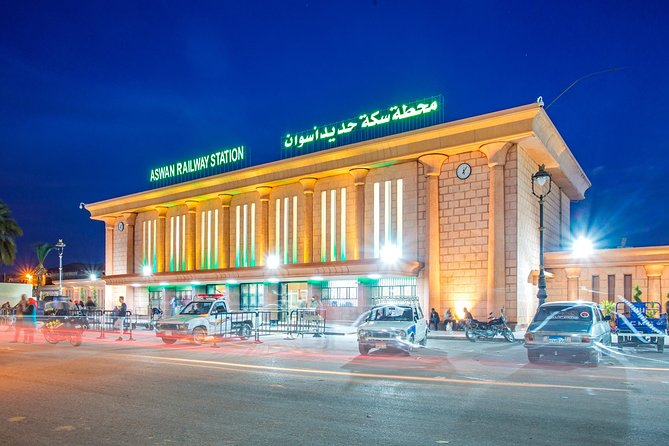 Aswan Railway Station Transfers To Aswan Hotels or Nile Cruises