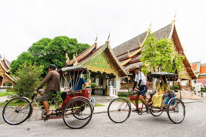 Check Out Old Chiang Mai by a Trishaw
