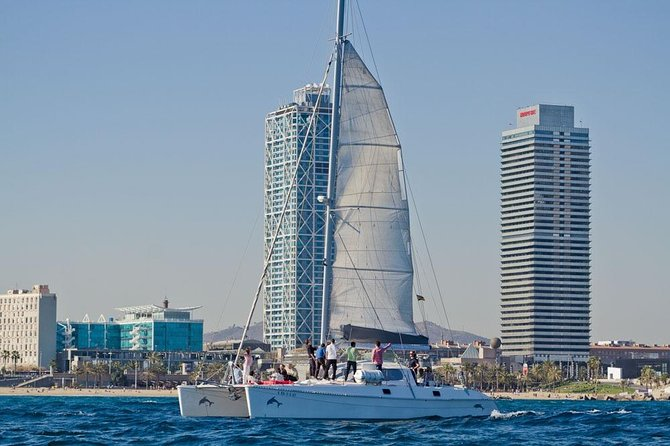 3h Exclusive Catamaran Experience in Barcelona
