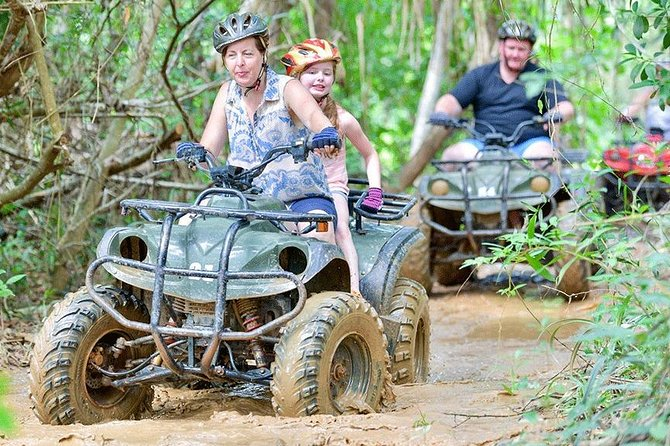 1 Hour ATV Riding, Flying Fox and Rope Bridge in Phuket