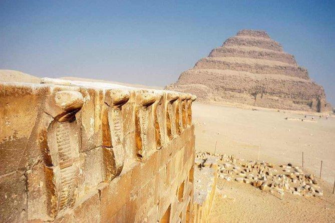 Day tour Pyramids, Sakkara and Memphis