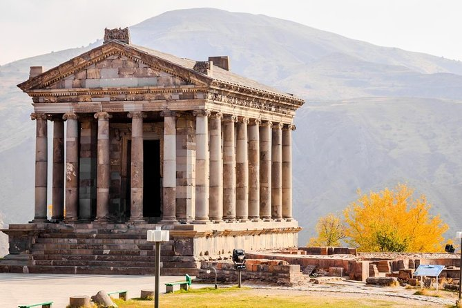 Group tour to: Geghard, temple Garni, Lavash baking master class, Charents Arch