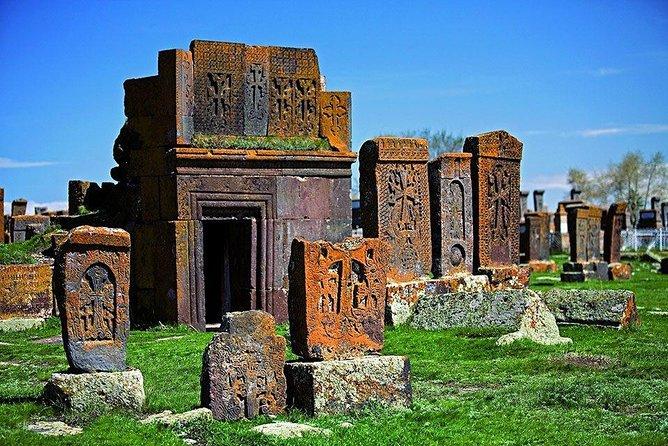 Private tour to Lake Sevan, Sevanavank, Noratus cemetery, Hayravank monastery
