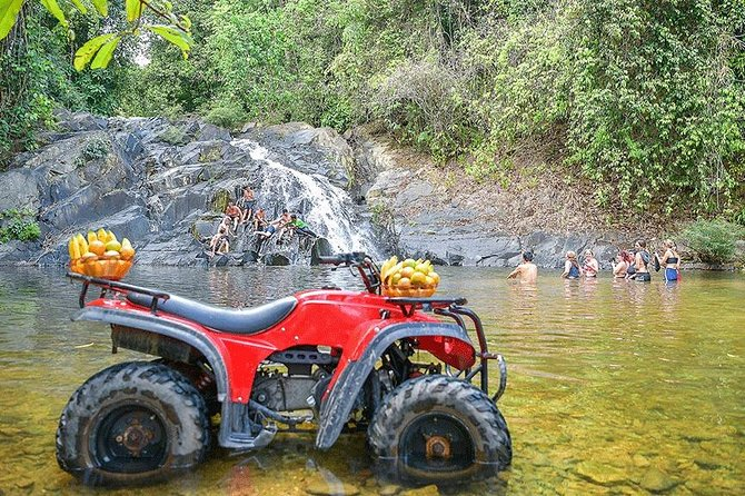 3 Hours ATV riding and 5km. White Water Rafting in Phang Nga from Phuket