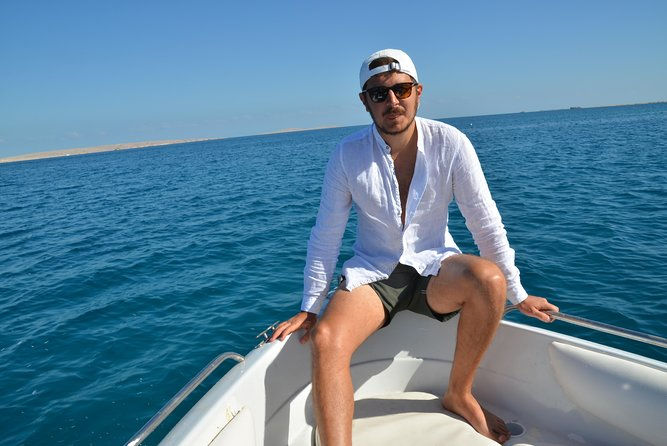 4 Hours Snorkeling With the Dolphins by a Speed Boat (Private) - Hurghada photo 4