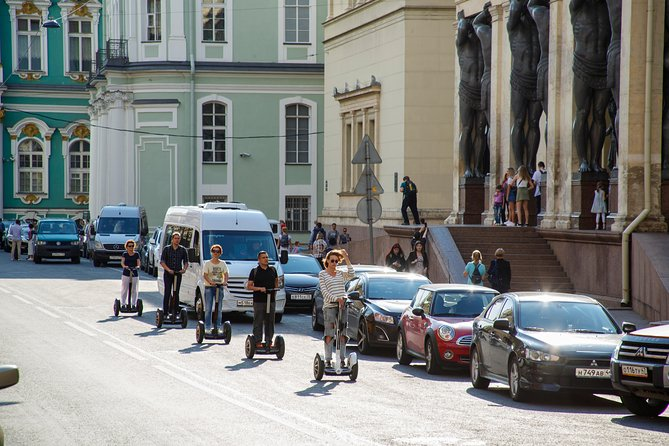 The heart of the city - Segway tour