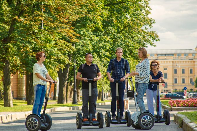 Revolutionary St. Petersburg – thematic Segway tour