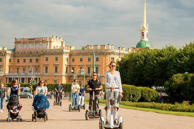 Unforgettable happens: Mystical Petersburg – thematic Segway tour