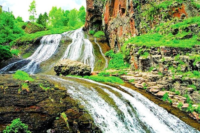 Private Tour to Khor Virap, Areni cave or winery, Noravank, Jermuk, Waterfall