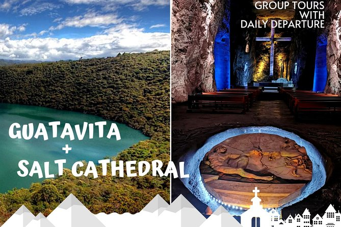 Guatavita and salt cathedral - Daily and group tour