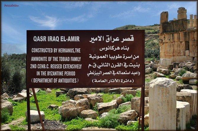 Half Day Private Tour to Iraq al-Amir (Qasr al-'Abed)