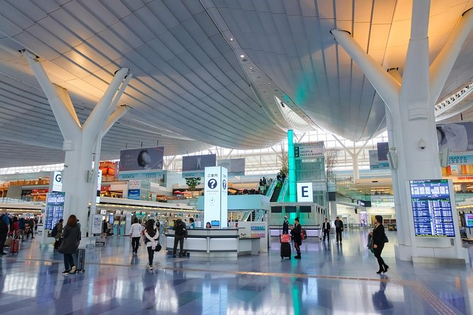 Haneda Airport Shuttle Transfer From Airport to Tokyo