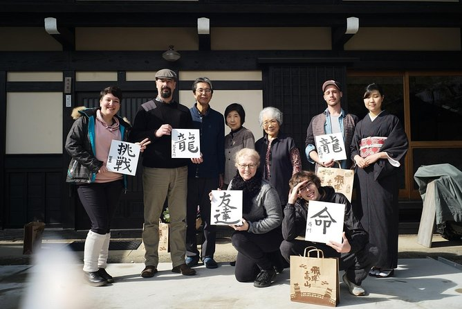 "Experience the living Takayama in a 100-year-old house & Enjoy ""Calligraphy"""