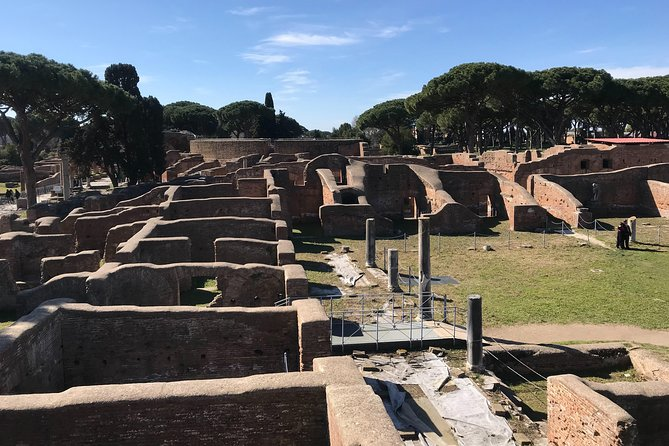 Private tour of Ostia, the ancient city harbor, by van with a PhD archaeologist