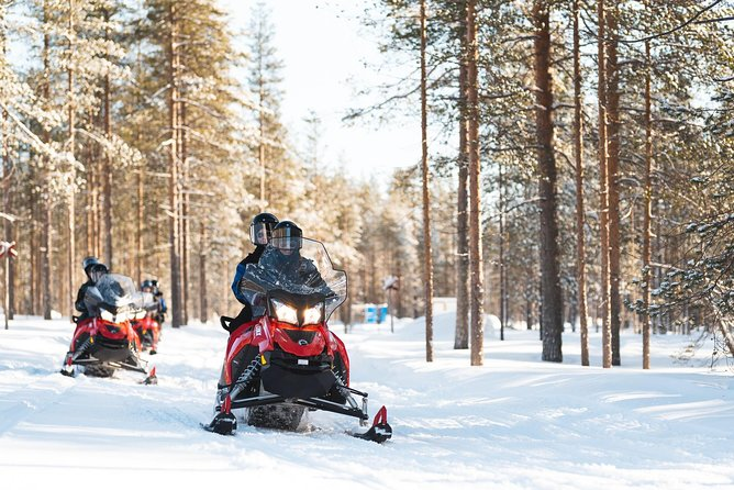 Rovaniemi Snowmobile Safari to Reindeer Farm and Santa Claus Village photo 3