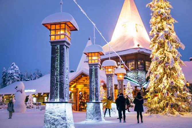 Rovaniemi Snowmobile Safari to Reindeer Farm and Santa Claus Village photo 1