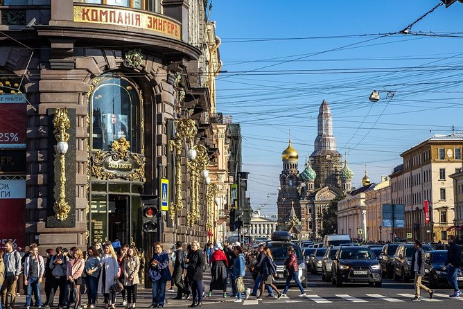 1-Day Hermitage and Peterhof Shore Excursion in St Petersburg