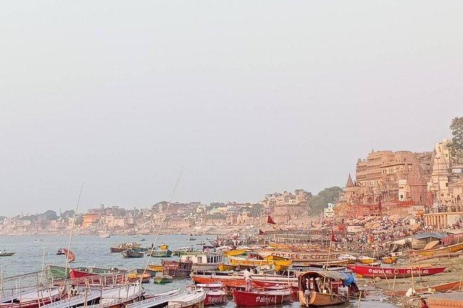 Varanasi old town walking