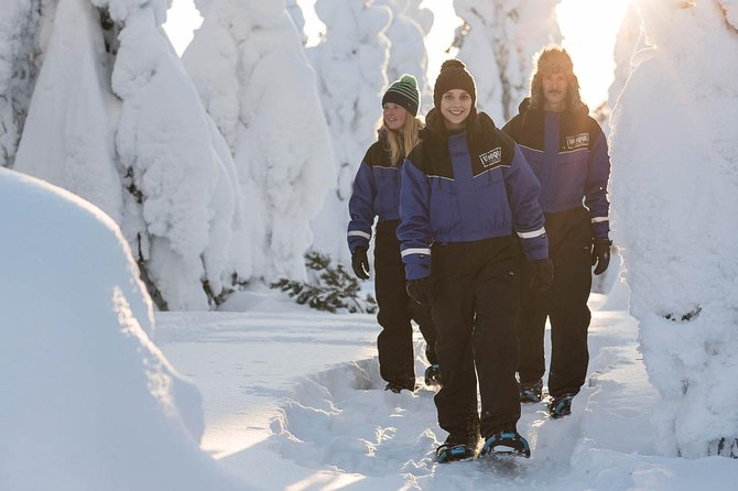 Snowshoeing in the Arctic Circle Wilderness
