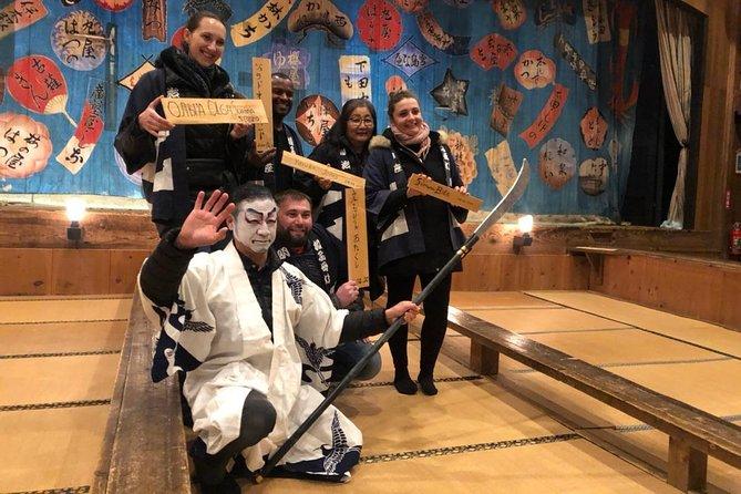 """Visit the Local Kabuki Theater """"Meijiza"""" and Experience Kumadori Makeup"""