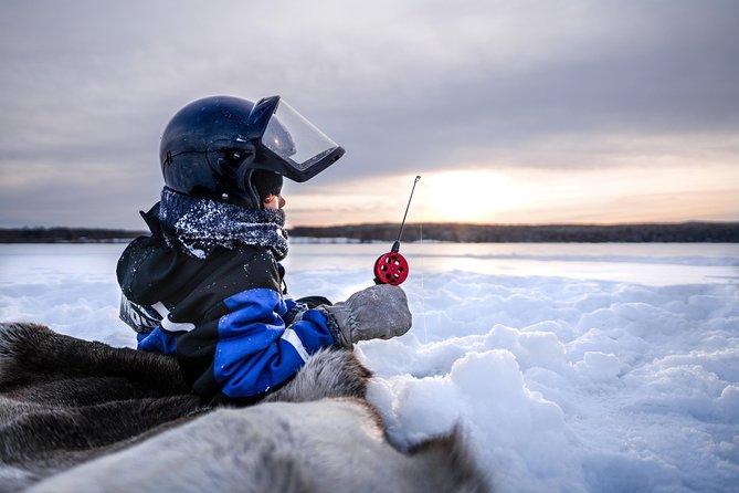 Snowmobile Safari with Ice Fishing Experience