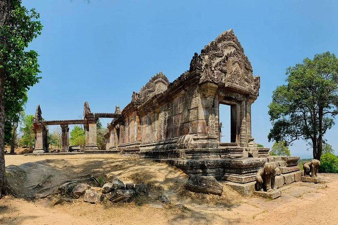 Preah Vihear and Koh Ker group Full Day private Tour
