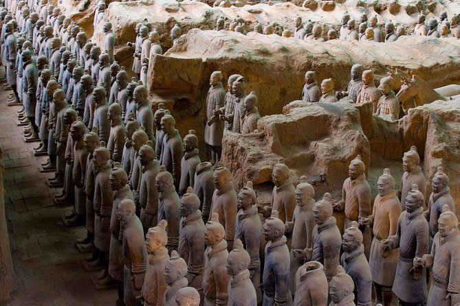 Terracotta Warriors and Muslim Quarter Xi'an Private Day Tour
