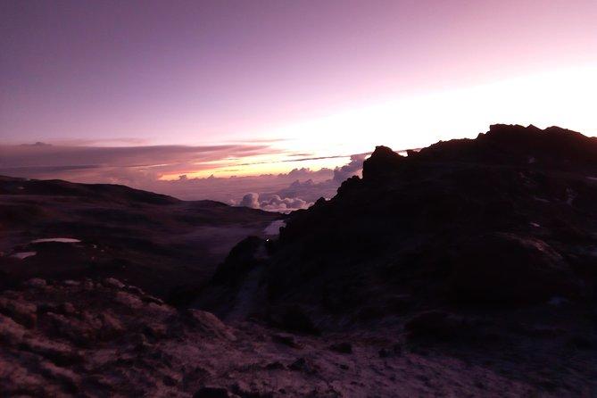 Kilimanjaro Climbing through the MACHAME ROUTE