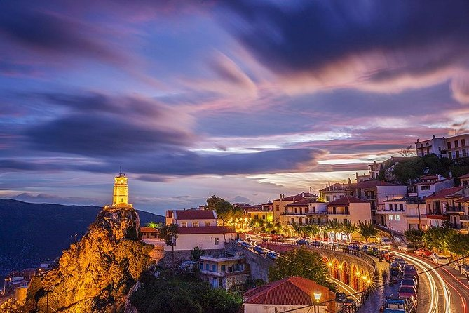 4-Days Arachova Volos and Pelion Private Tour from Athens