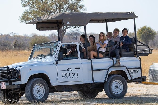 Victoria Falls Game Drive with Overnight Camping