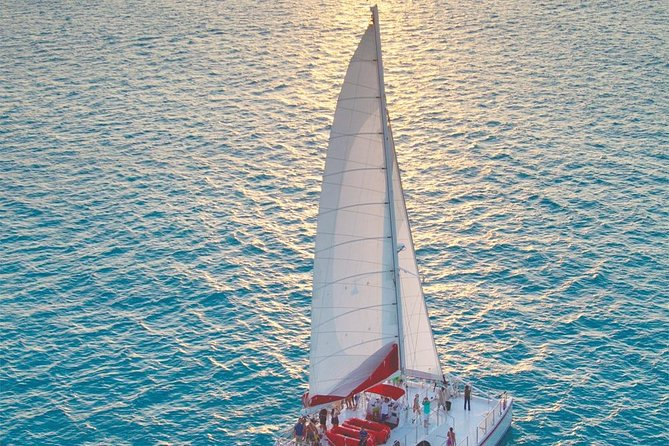 Sunset Sip and Sail with Open Bar, Live Music, and Appetizers from Key West