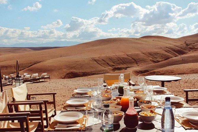 Romantic Dinner in Agafay Desert