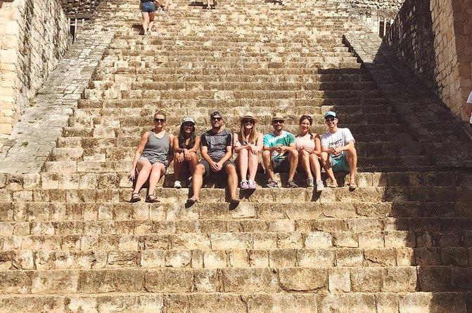 One day Tour to Las Coloradas, Valladolid, Ek Balam Ruins and Cenote Hubiku.