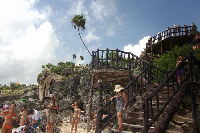 SUPER COMBO Tour to Kaan Luum Lagoon, Cenotes, Tulum Ruins and Playa del Carmen.