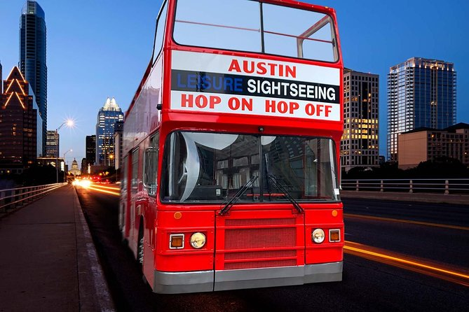 48-Hour Austin Hop-On Hop-Off Blue Line City Tour