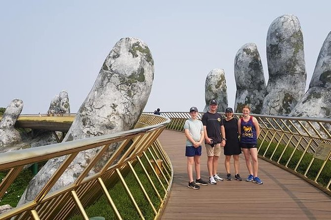 Private Roundtrip Transfer to GOLDEN BRIDGE via Hai Van Pass from Hotel in Hue