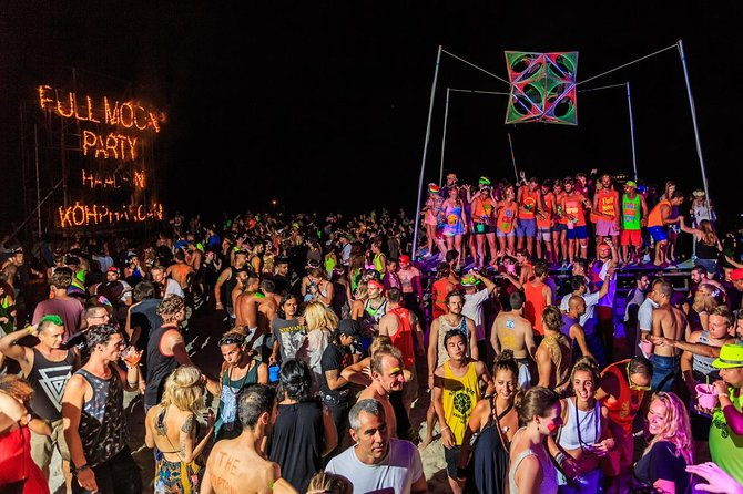 Koh Phangan Full Moon Party Admission with Pick Up