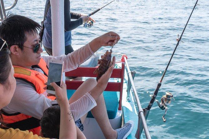 Full-Day Fishing Trip in Sabah Gaya Island