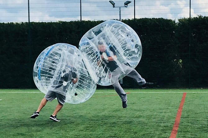 1-Hour Zorbing Football Guided Experience
