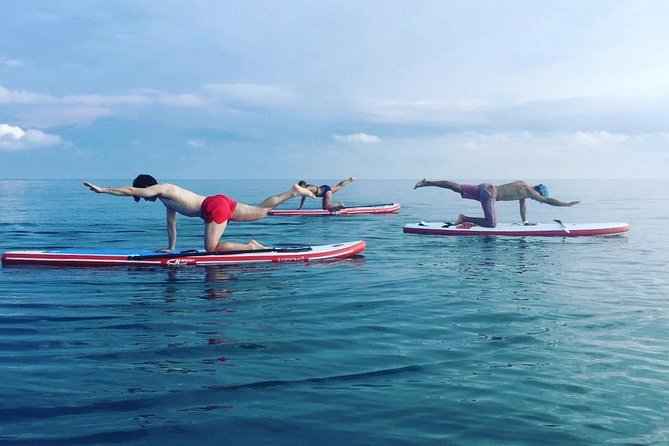 1-Hour Guided SUP Pilates Experience with Instructor in Denia