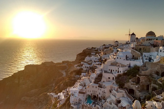 Santorini Secrets Private Tour with Pick Up
